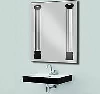 Зеркало с LED подсветкой настенное d21 800х600 мм Лед