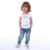 Вышиванка с коротким рукавом для девочки