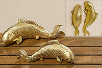Рыба Phino полистоун золото l19см