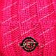 Шапка вязаная для девочки с помпоном, Agbo (Польша), подкладка флис, 588, фото 7