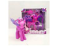 Игрушка для девочек  Пони (CL1991AB) 2 вида, с аксесс, короной, муз., свет., на батар., в коробке 23*21.5*10см