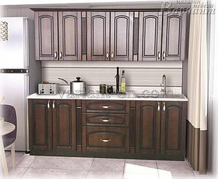 Кухня Классик патина 1,9м модульная
