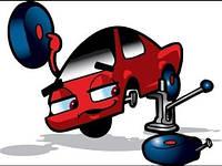 Замена троса ручного (стояночного) тормоза  Fiat