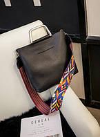 Черная городская сумка