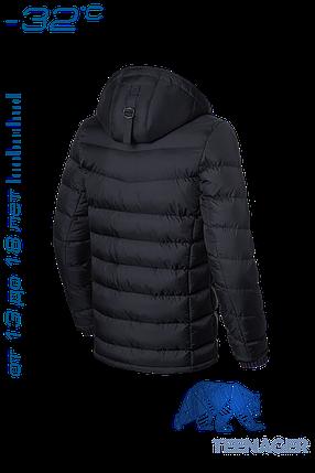 Черная зимняя куртка на подростка Braggart Teenager (р. 40-46) арт. 7823, фото 2
