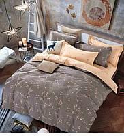 Полуторный комплект постельного белья сатин-фотопринт B-0049 Sn Bella Villa