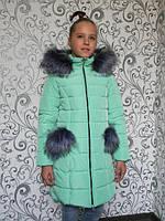 "Зимняя куртка на девочку ""Рукавичка"", фото 1"