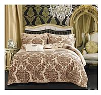 Полуторный комплект постельного белья сатин-фотопринт B-0044 Sn Bella Villa