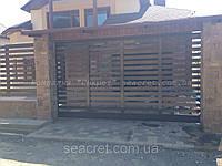 Откатные ворота Алютех (Alutech) серии ADS 400, Киев, фото 1
