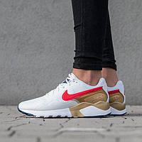 "Кроссовки Оригинал Nike Wmns Air Pegasus 92/16 ""White/Red/Gold"" (845012-101)"