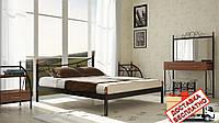 Кровать металлическая кованная Калипсо двуспальная, фото 1