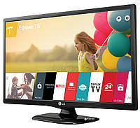Телевизор LG 24LH480u (60 Гц, HD, Smart, Wi-Fi, Triple XD Engine, Virtual surround 2.0, DVB-T2)