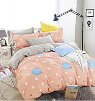Полуторный комплект постельного белья сатин-фотопринт B-0082 Sn Bella Villa
