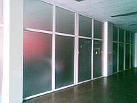 Металлопластиковые перегородки для офиса