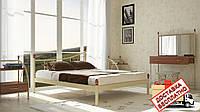 Кровать металлическая кованная Калипсо полуторная, фото 1