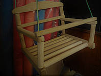 Детская качеля деревянная наборная