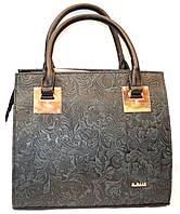Женская каркасная сумка B Elit с перфорацией 31*28
