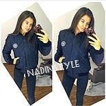 Женская стеганная демисезонная куртка-бомбер (3 цвета), фото 7