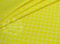 Лоскут ткани №665а с жёлтой чешуёй