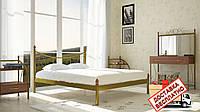 Кровать металлическая кованная Калипсо 2 полуторная