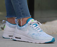 "Кроссовки Оригинал Nike Air Max Thea ""White/Blue/Lagoon"" (833887-100)"