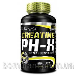 Creatine pH-X 210 капсул BioTech