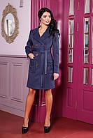 Пальто женское, двубортное, полуприлегающего силуэта Разные цвета