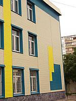 Монтаж и обшивка стен фасада дома металлически м сайдингом под ключ