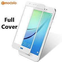 Защитное стекло Mocolo Full сover для Huawei Nova 2 Plus белый