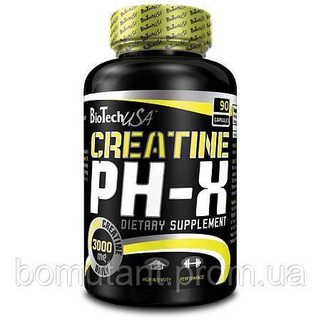 Creatine pH-X 90 капсул BioTech
