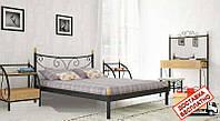 Кровать металлическая кованная Луиза двуспальная