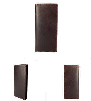 Мужской кожаный клатч Sourse Point, фото 2