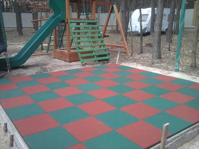 Детская площадка в частном дворе 5