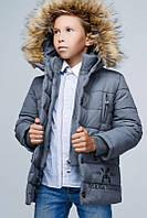 Зимняя креативная  куртка для мальчика.