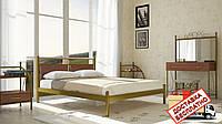 Кровать металлическая кованная Николь односпальная, фото 1