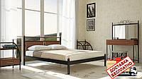 Кровать металлическая кованная Николь полуторная, фото 1