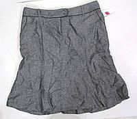 Легкая юбка CAMAIEU, 18 (46), Лен-Хлопок, Новая!
