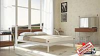 Кровать металлическая кованная Николь двуспальная, фото 1