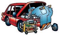 Чистка механических узлов барабанной тормозной системы Ford
