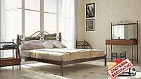 Кровать металлическая кованная Адель полуторная, фото 1