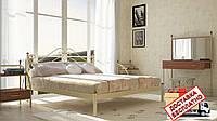 Кровать металлическая кованная Адель двуспальная, фото 1