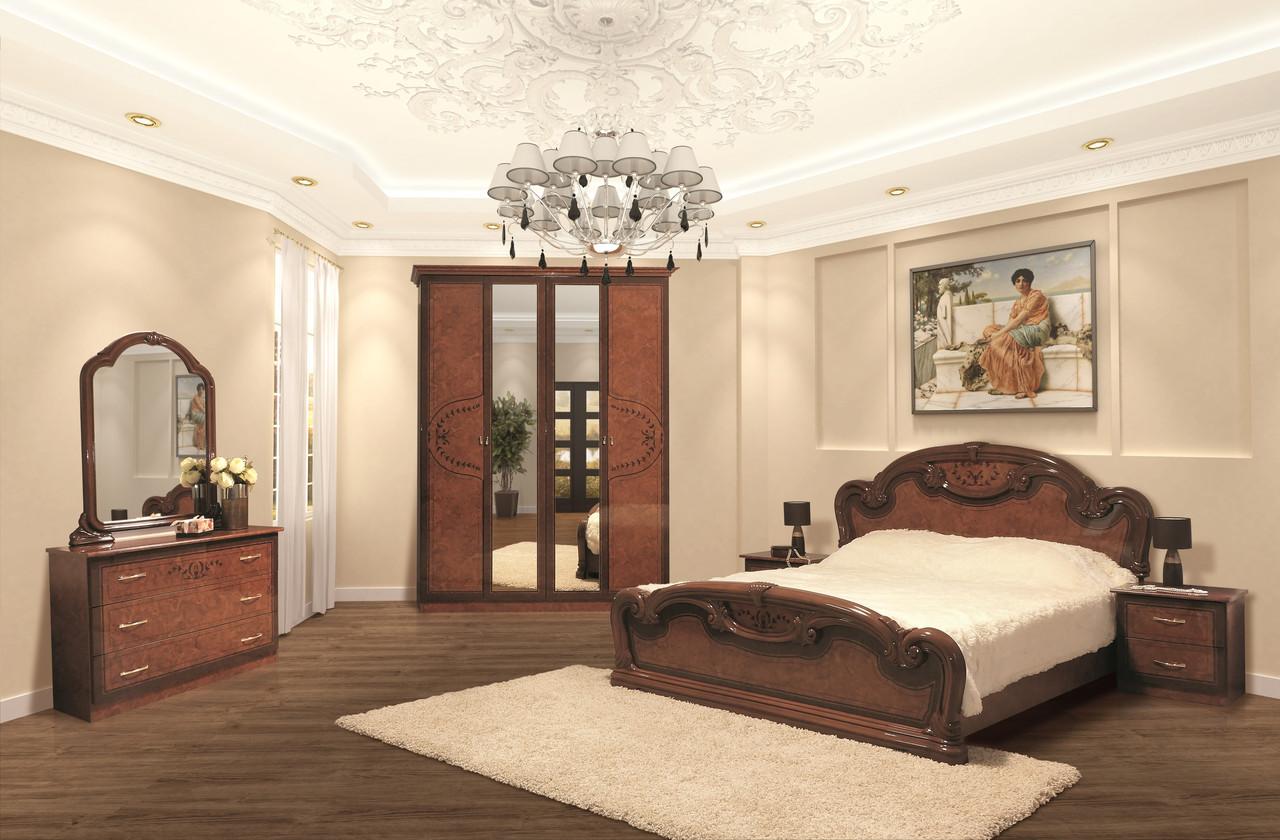Спальня в классическом стиле Опера  4Д Світ меблів,цвет орех