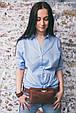 Сумка женская напоясная DropBag Коньяк, фото 2