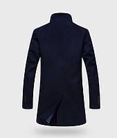 Мужское шерстяное весеннее пальто. Модель 6343, фото 4