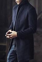 Мужское шерстяное весеннее пальто. Модель 6343, фото 2