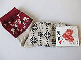 Теплые женские носки с рисунком, фото 2