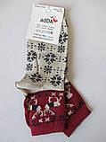 Теплые женские носки с рисунком, фото 4