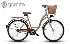 Женский городской велосипед GOETZE ECO 26 + корзина