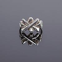 Дизайнерское женское кольцо-головоломка от WickerRing