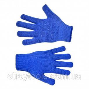 Перчатки текстильные с мелким вкраплением, L,Украина,16-031,Киев.